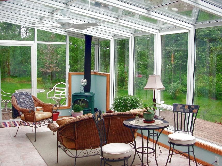 Staight Eave Sunroom