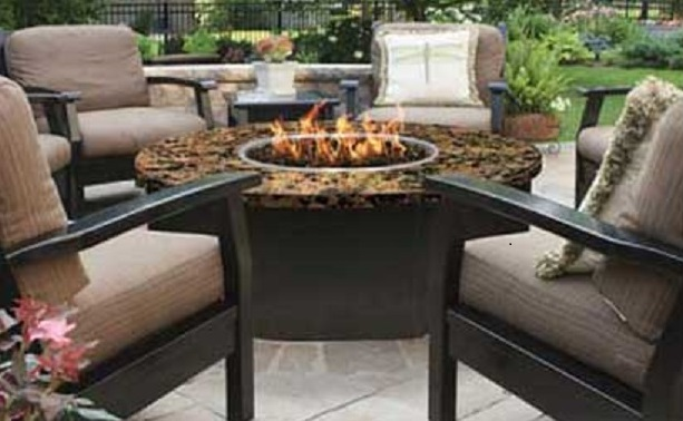 Vin De Flame wine barrel Firepit