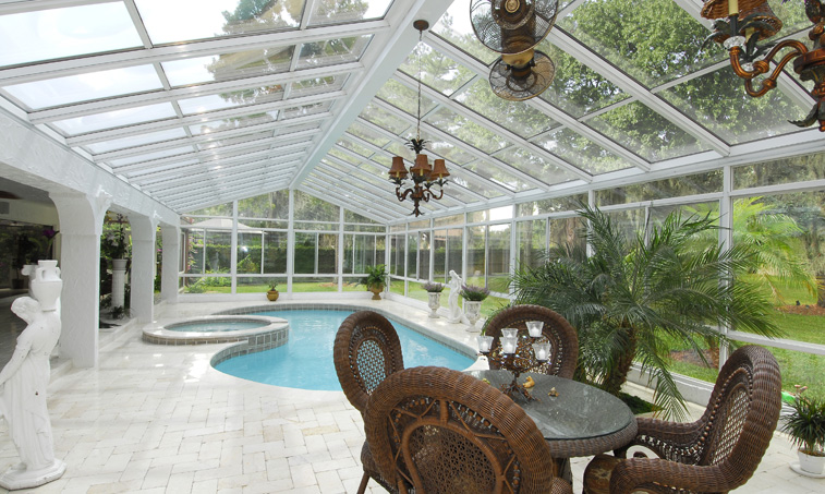 Glass Pool Enclosure