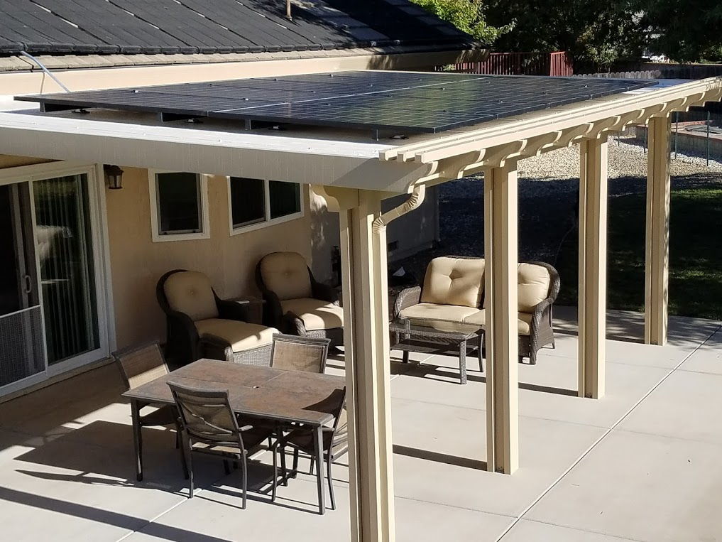 Solar Patio Cover